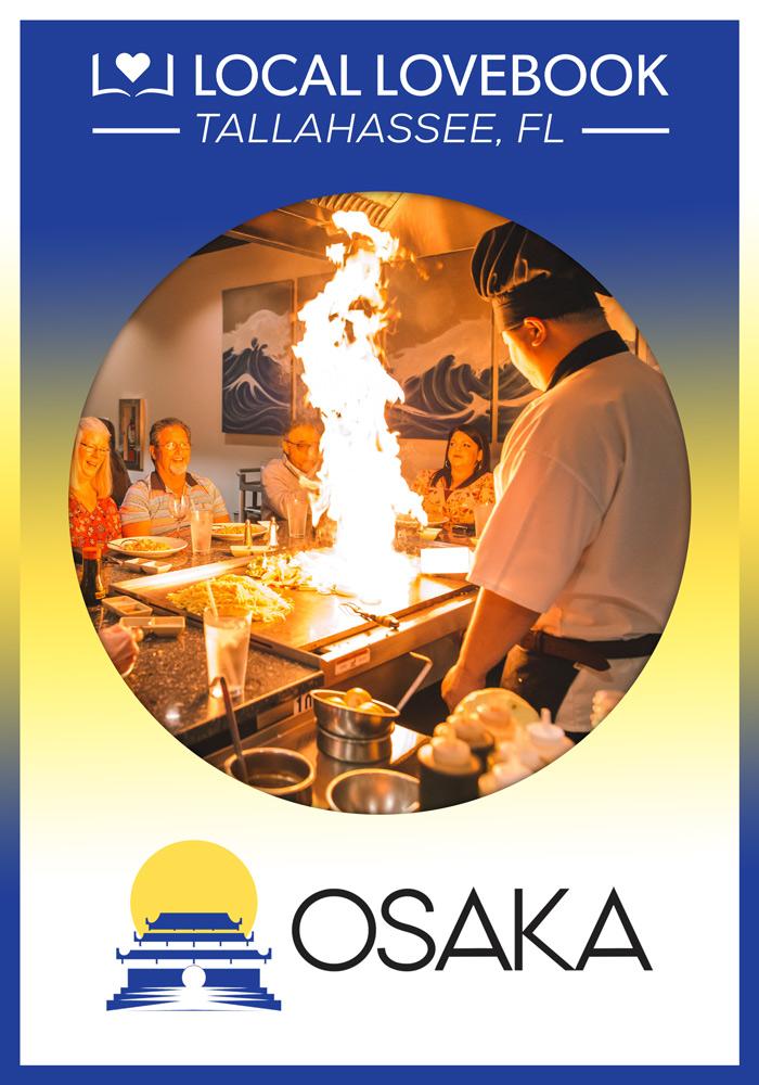 OSAKA JAPANESE HIBACHI STEAKHOUSE & SUSHI BAR